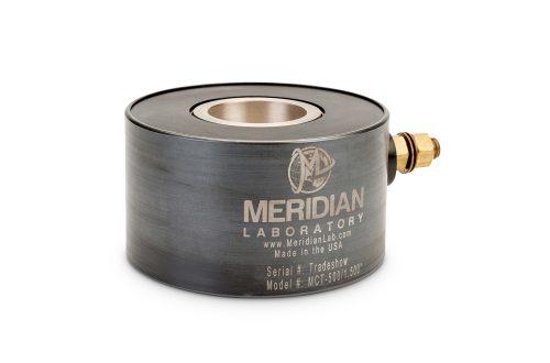 Through-hole rotary welding clamp