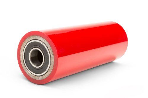 Precision polyurethane coated bearings