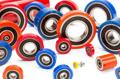 Precision polyurethane bearings
