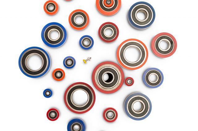 Polyurethane bearings