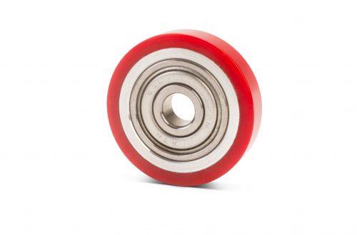 Polyurethane coated bearings