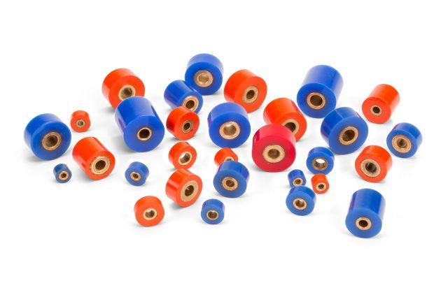 Precision idler wheels