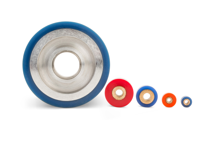 polyurethane idler rollers
