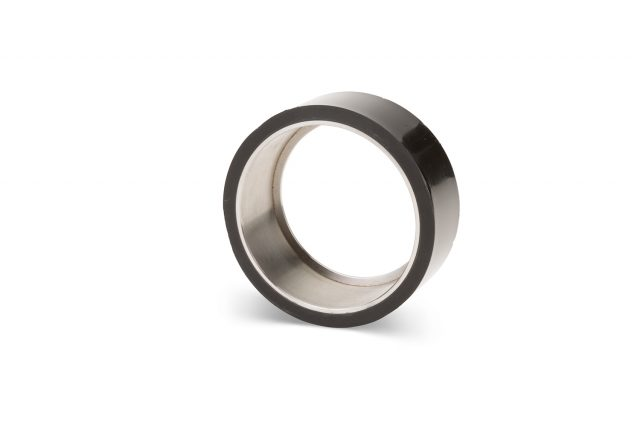 Custom polyurethane rollers and shafts