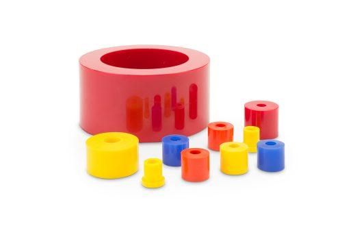 Polyurethane bumpers