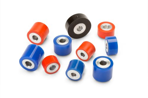 Hubless Polyurethane Rollers