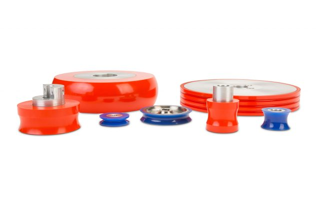 Custom polyurethane wheels