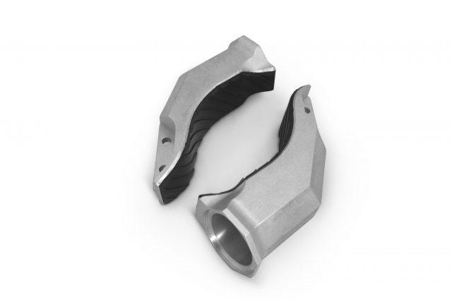 robotic gripper, robot fingers, rubber gripper,