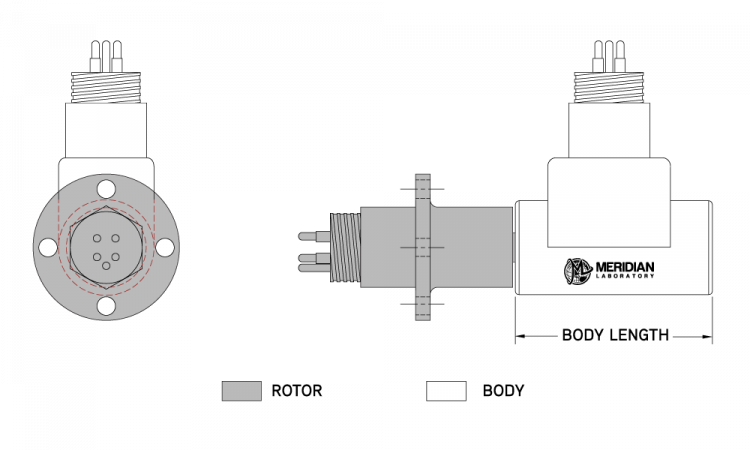 ROTOCON MXO Harsh Industrial / Environmental Rotary Electrical Connector
