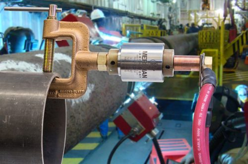 High Current Pipe Welding Ground Clamp