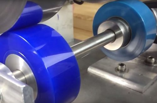 Drive roller, polyurethane drive roller, runout, precision polyurethane
