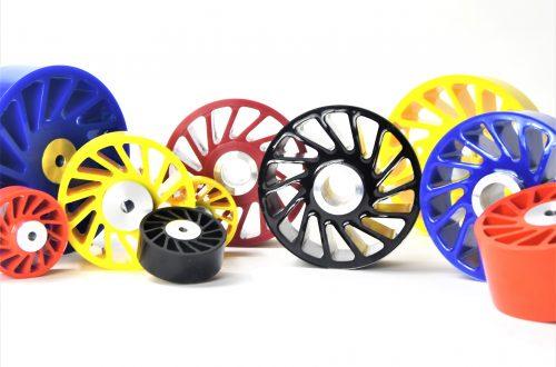 Polyurethane Metering Wheels