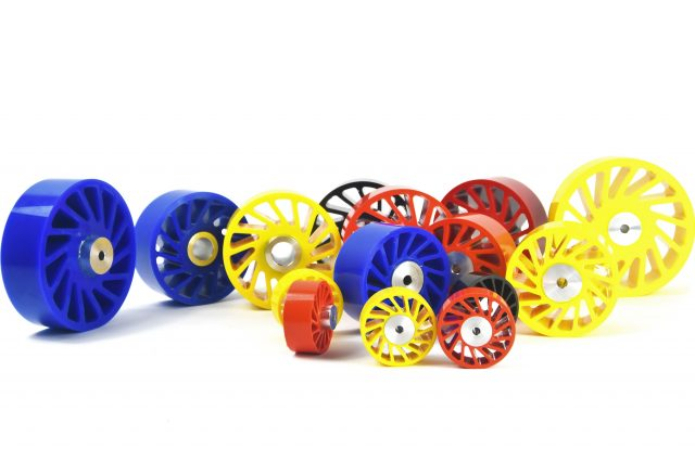 No Crush Poly Wheels