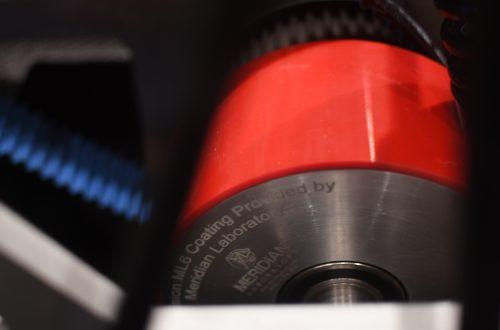 Badgerloop ML6 Polyurethane Wheel Assembly