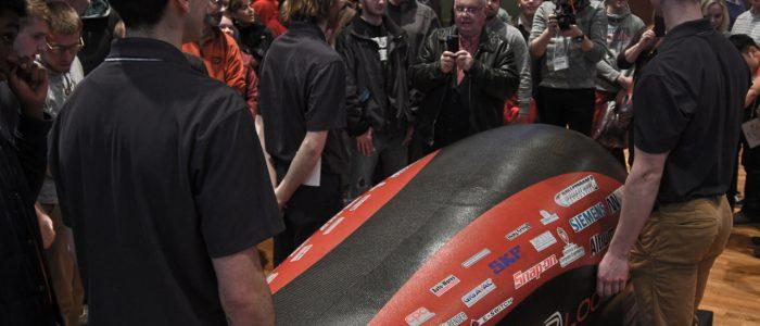 Badgerloop Pod Unveiling 3