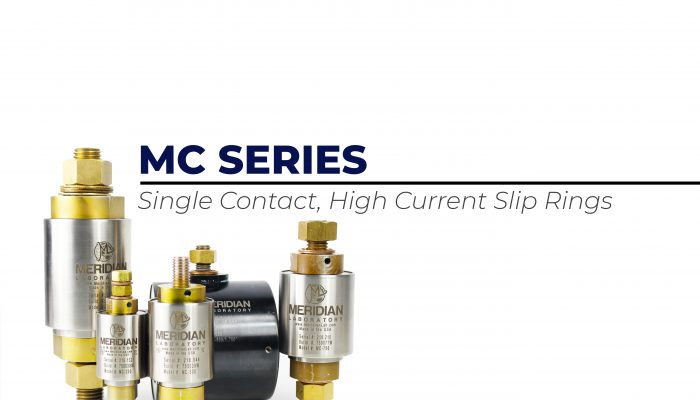 Single Contact High Amperage Rotary Welding Grounds and Slip Ring Assemblies