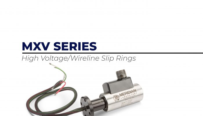 High Voltage Wireline Cable Reel Slip Rings