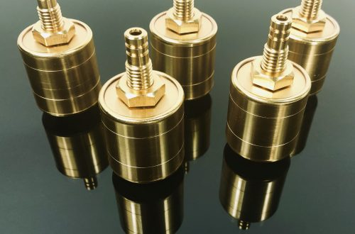 Gold Plated Electrical Connector Slip Ring