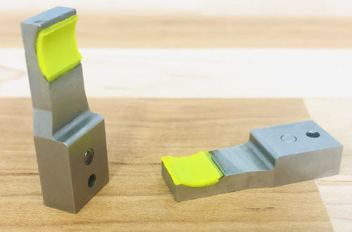 Polyurethane coated work grippers